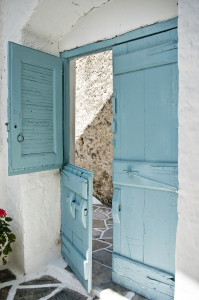 Door in greek Style